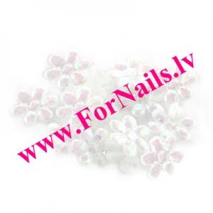 Цветы из ткани 1