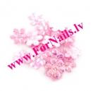 Цветы из ткани 2