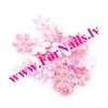 Цветы из ткани 9